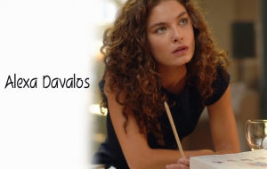 Alexa Davalos HD Wallpaper
