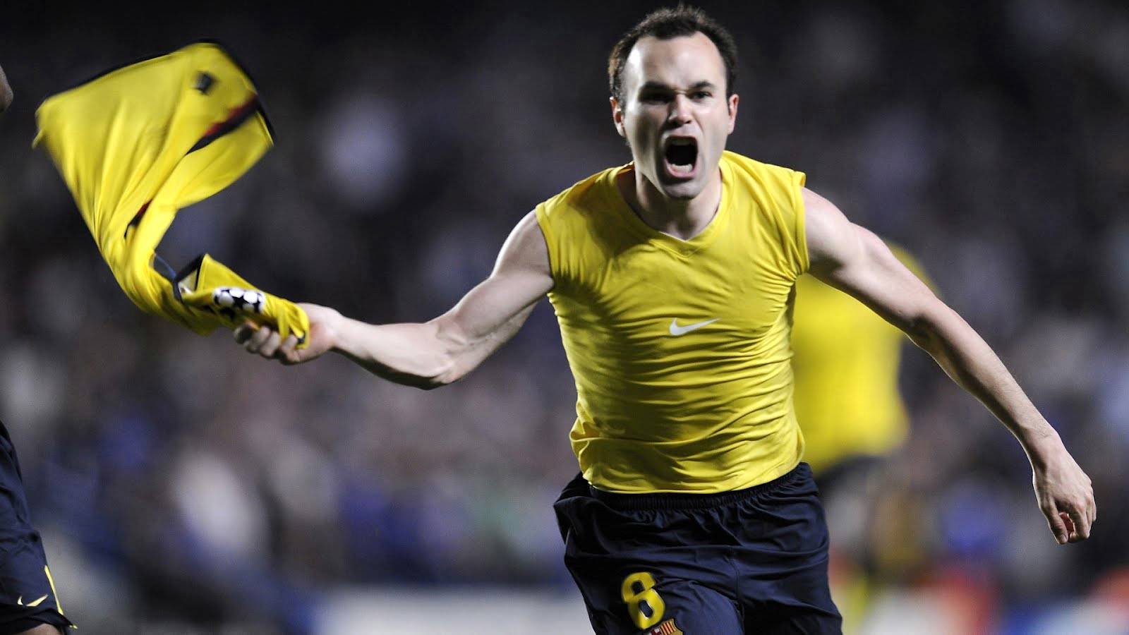 Andres Iniesta Spanish Footballer Wallpapers | HD Wallpapers