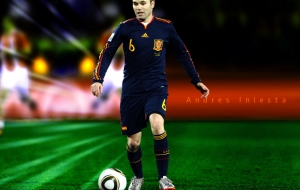 Andres Iniesta For Desktop
