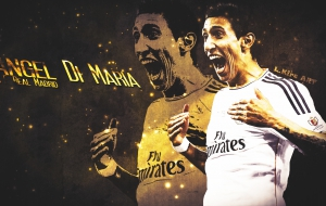 Angel Di Maria Background