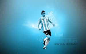 Soccerwallpaper Mackafe Com Angel Di Maria Wallpapers