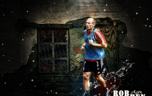 Arjen Robben HD Wallpaper