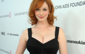Christina Hendricks HD Wallpaper