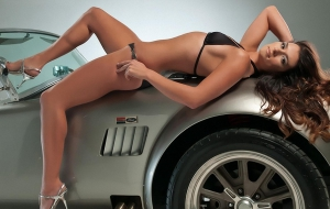 Danica Patrick HD Background