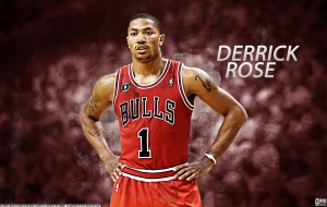 Derrick Rose HD Background