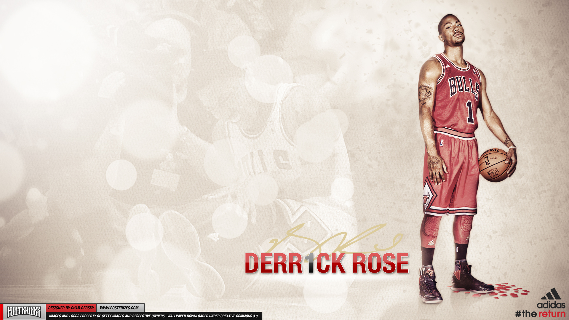 Derrick rose wallpapers high resolution and quality download derrick rose high definition voltagebd Image collections