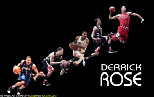 Derrick Rose For Desktop