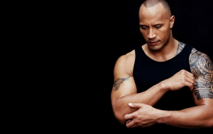 Dwayne Johnson HD Desktop