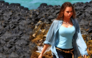 Indiana Evans Photos