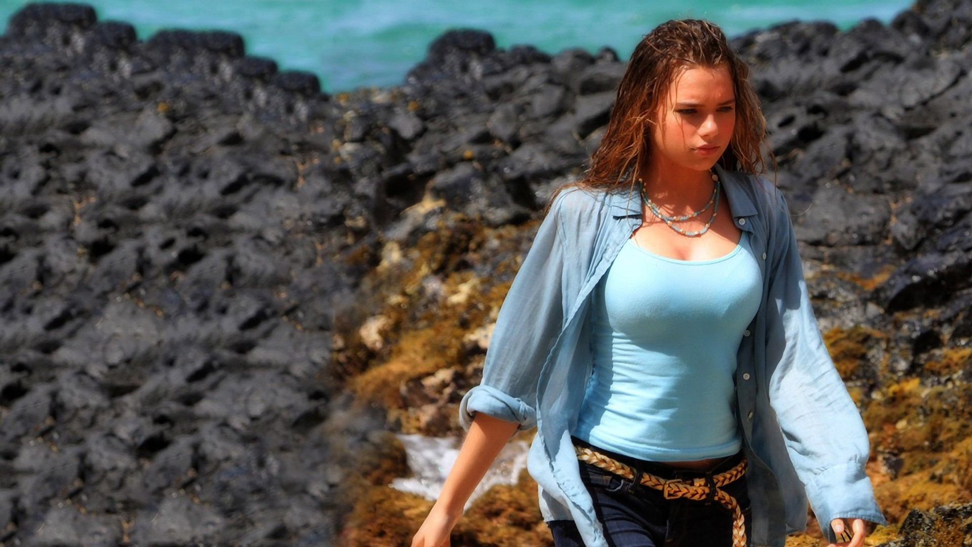 Are Indiana evans hot are