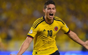 James Rodriguez HD Background