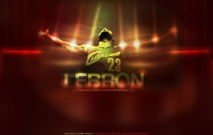 LeBron James HD Background