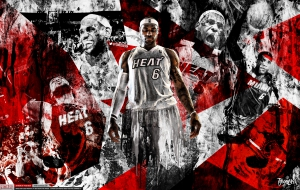 LeBron James HD Desktop