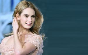 Lily James Computer Wallpaper