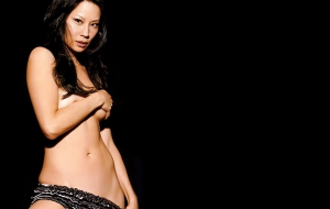Lucy Liu HD Background