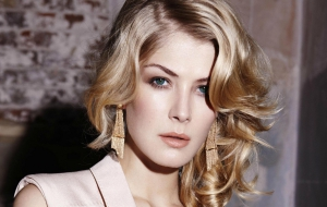 Rosamund Pike HD Background