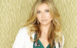 Sarah Chalke HD Background