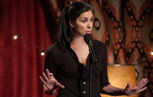 Sarah Silverman HD Background