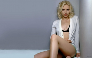 Scarlett Johansson For Desktop