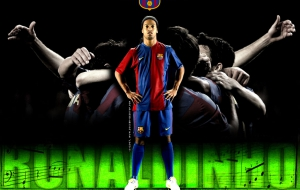 Ronaldo De Assis Moreira HD Wallpaper