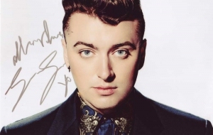 Sam Smith HD Background