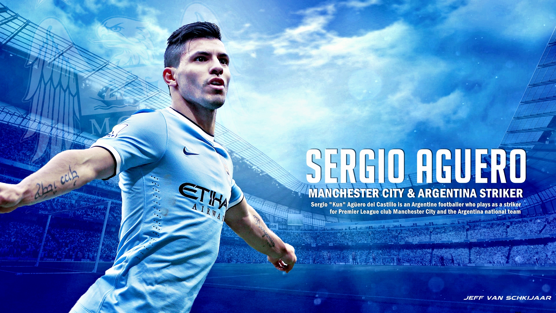 Sergio Aguero Wallpapers High Resolution And Quality Downloadsergio