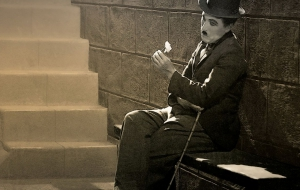 Charles Chaplin HD Background
