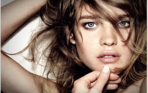 Natalia Vodianova HD Wallpaper