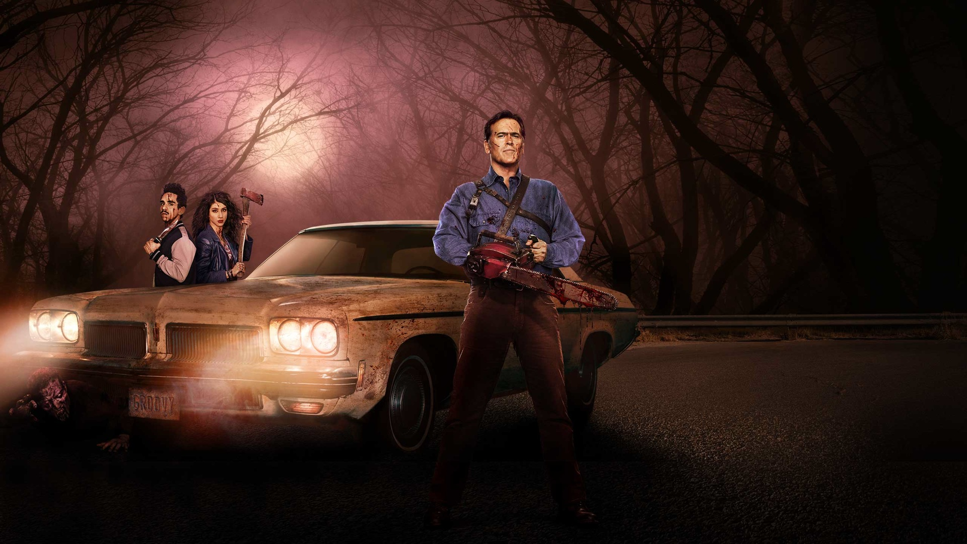 ash vs evil dead tv series hd wallpapers