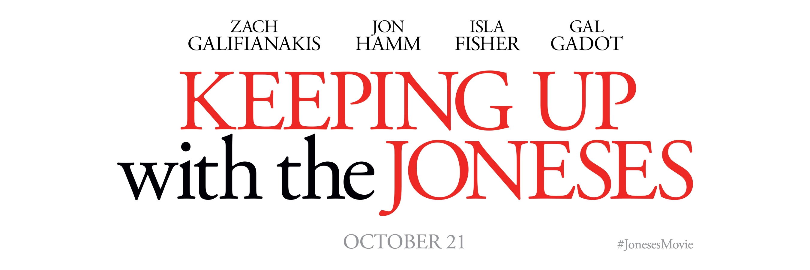 the joneses Keeping up with the joneses 2016 full pelicula gratis, ver online keeping up with the joneses, una convencional pareja (zach galifianakis & isla fisher) de un.