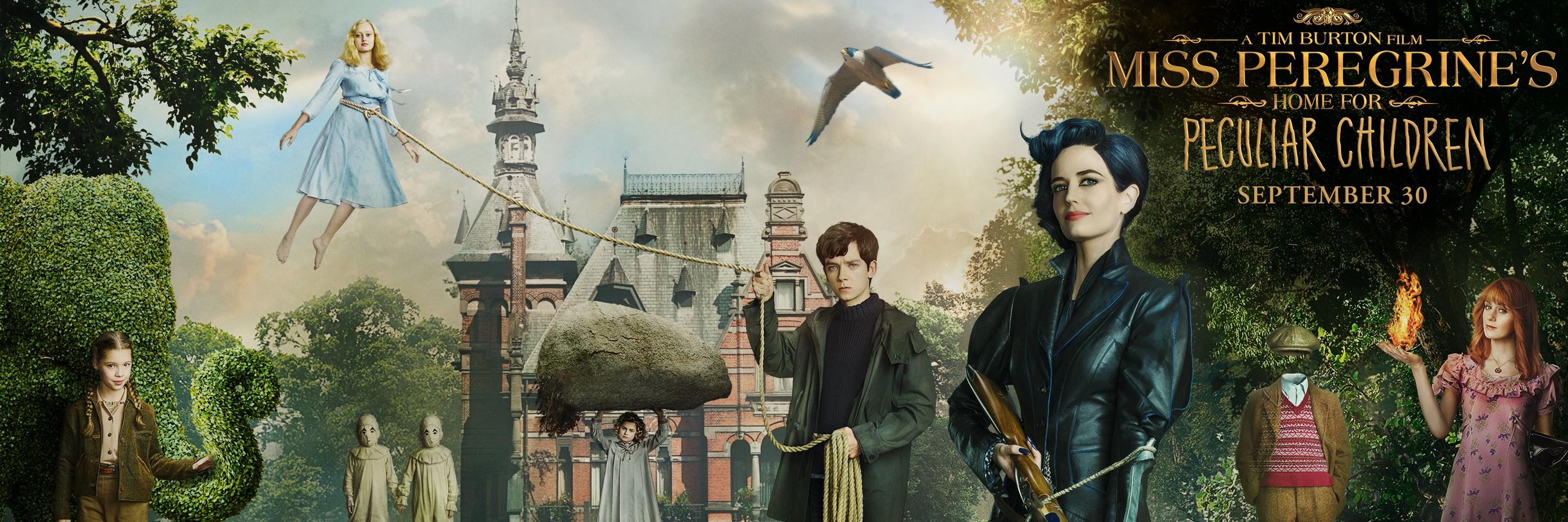 Miss peregrine s home for peculiar children hd wallpapers for Wallpaper home film