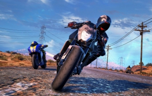 Moto Racer 4 HD Wallpaper