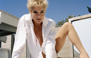 Sharon Stone Background