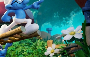 Smurfs The Lost Village Background