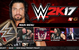 WWE 2K17 Background