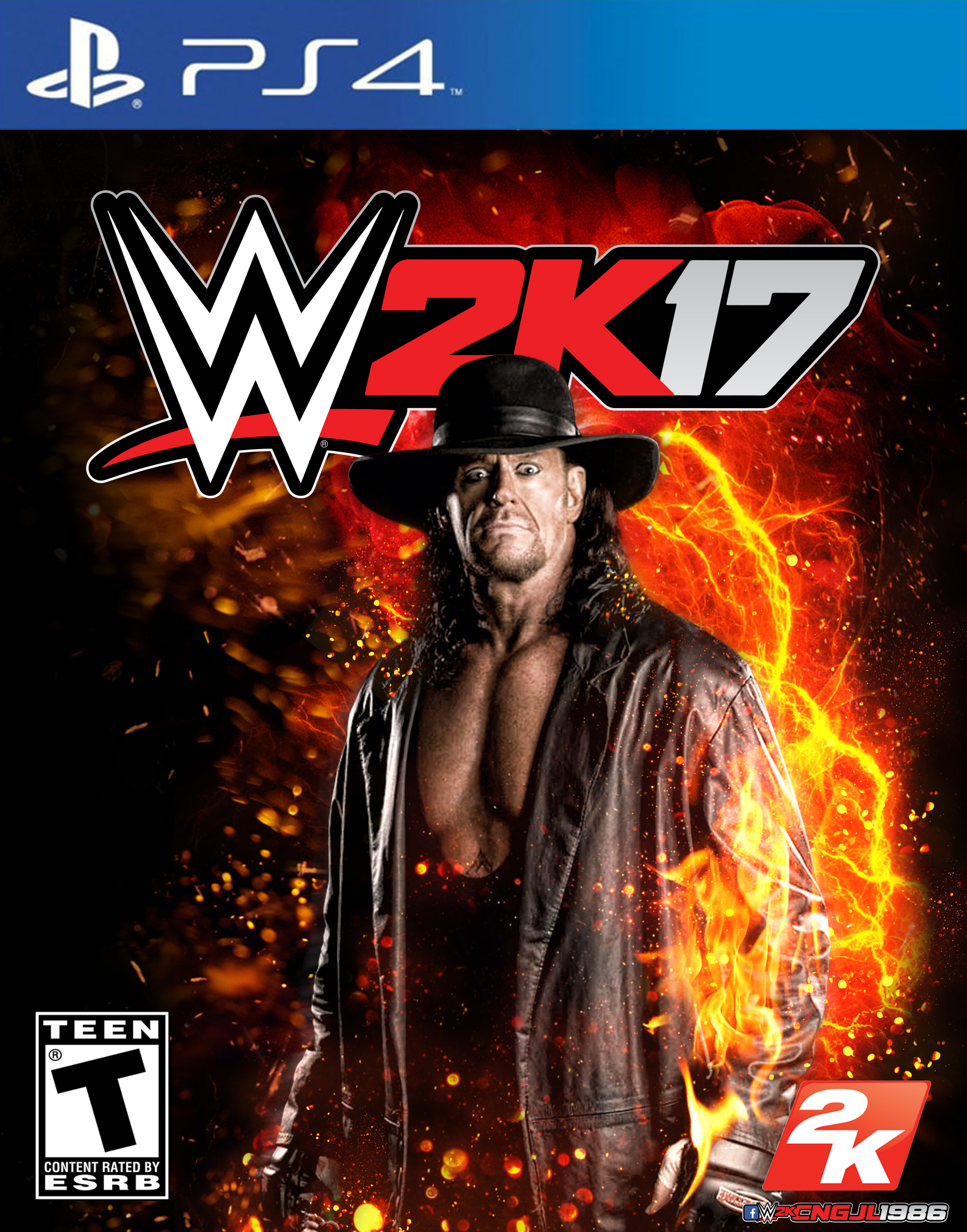 Wallpapers WWE 2K17 Widescreen