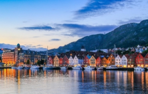 Bergen HD Background