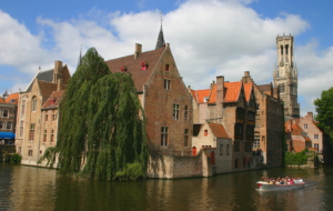 Bruges HD Background