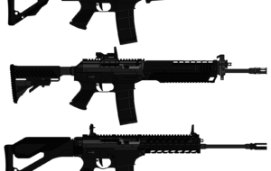 CZW 556 Rifle Wallpaper