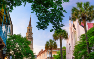 Charleston HD Background