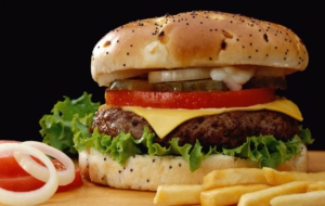 Cheeseburger HD Wallpaper