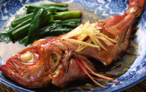 Chinese Seafood HD Background