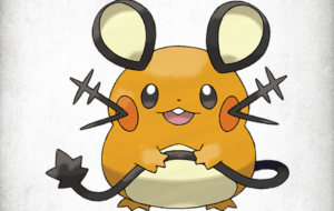 Dedenne HD Background