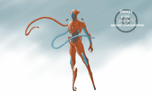 Deoxys Background