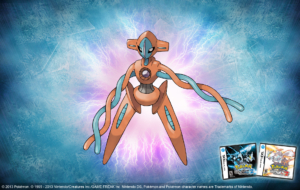 Deoxys Computer Wallpaper