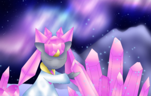Diancie HD Wallpaper