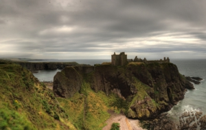 Dunnottar Castle Computer Wallpaper