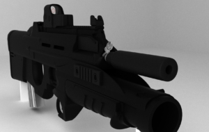 FN F2000 Rifle Widescreen