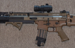 FN SCAR Rifle Background