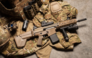 FN SCAR Rifle HD Wallpaper